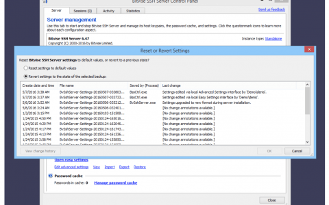 Bitvise SSH Server Review