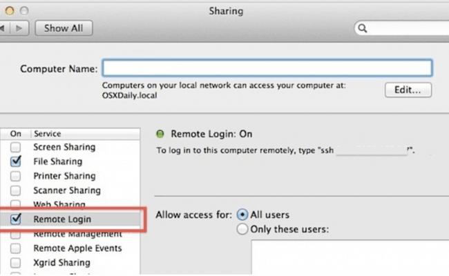 MacOS Native SSH Server Review