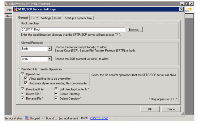 SolarWinds SFTP Server Review
