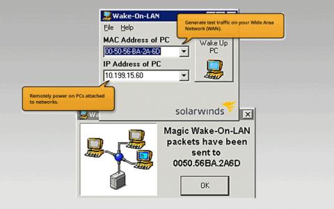 SolarWinds Wake-On-Lan Review