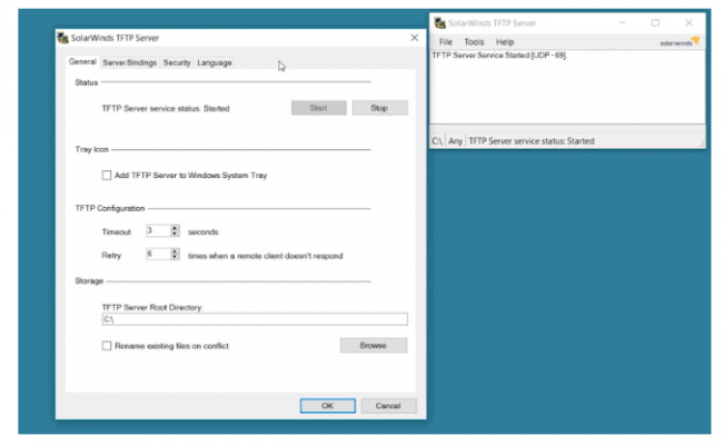 Solarwinds TFTP Server Review