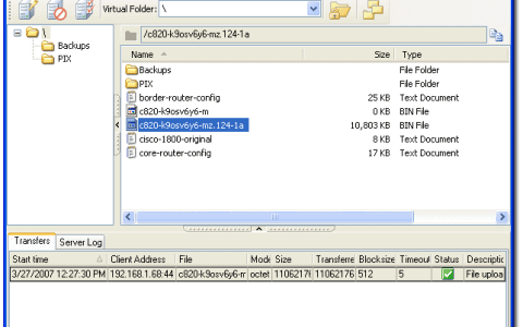 WinAgents TFTP Server Manager Review